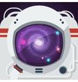 Astronaut Flat vector image vector image