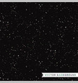 black glitter texture seamless background vector image vector image