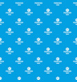 fence glass pattern seamless blue vector image