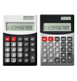 flat icons for calculator vector image