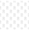 Gauntlet pattern seamless vector image