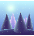 greeting background merry christmas vector image vector image