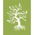 money tree design vector image vector image