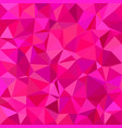 pink triangle tiled mosaic background vector image vector image
