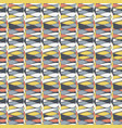 rows of lime white tan and grey vector image vector image