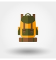 Travel backpack icon vector image vector image
