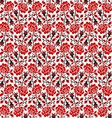 Ukrainian seamless pattern vector image