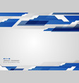 abstract of futuristic gradient blue stripe line vector image vector image