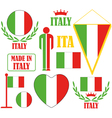 Italy vector image