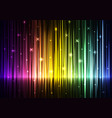 speed wave rainbow abstract background vector image vector image