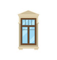 window on white background flat vector image vector image