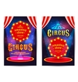 Poster for the circus vector image