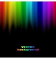 Abstract rainbow colours vector image