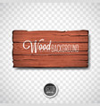 wood texture background design natural vector image