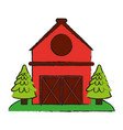 barn house or home icon image vector image vector image
