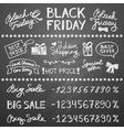 black friday vector image