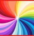 bright multicolored palette all colors vector image