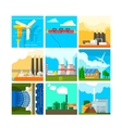 Energy Sources Symbols Set vector image vector image