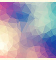 geometric polygon background design background vector image vector image