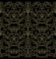 italian vintage seamless pattern for wallpaper vector image vector image