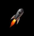 rocket 001 1 vector image vector image