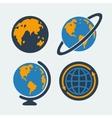 set symbols planet vector image vector image