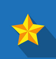 star icon simple flat vector image vector image