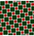 tiles christmas seamless pattern vector image
