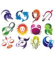 Zodiac 2014 vector image vector image