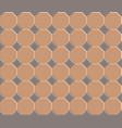 3d pavement brick pattern stone vector image vector image