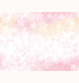 a seamless background with cherry blossoms vector image