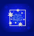 christmas and new year 2019 greeting card vector image