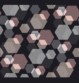 geometry header in pastel color vector image