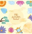 mid autumn festival frame