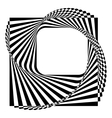 modern black and white background vector image vector image