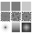 Nine very needed pattern vector image