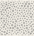 scattered geometric shapes inspired by memphis