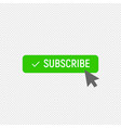 subscribe symbol ideal for video streaming vector image vector image