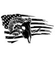 tattoo and tshirt design black and white handdrawn vector image vector image
