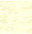 yellow brick wall pattern seamless background vector image