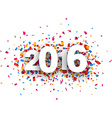 2016 new year vector image