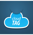 Abstract attach cloud vector | Price: 1 Credit (USD $1)
