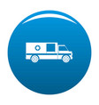 first aid icon blue vector image vector image