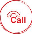 hotline vector image
