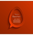 modern easter background vector image vector image