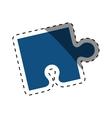 puzzle pieces concept vector image