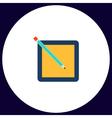 subscription computer symbol vector image vector image