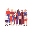 women family concept on isolated background vector image vector image
