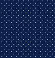 Night sky with geometric stars seamless background vector image