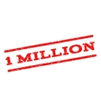 1 Million Watermark Stamp vector image vector image